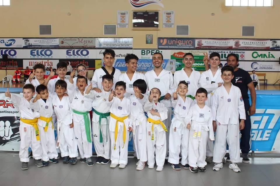 Ai Campionati nazionali tante medaglie per la palestra Taekwondo di Mario Lazzaro