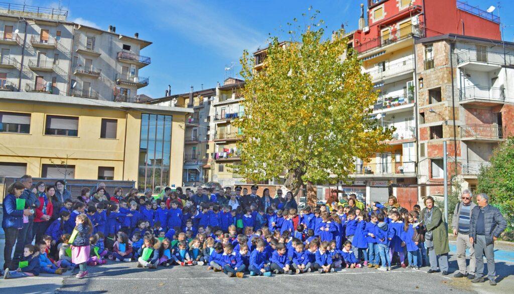 Festa dell'albero a Petilia