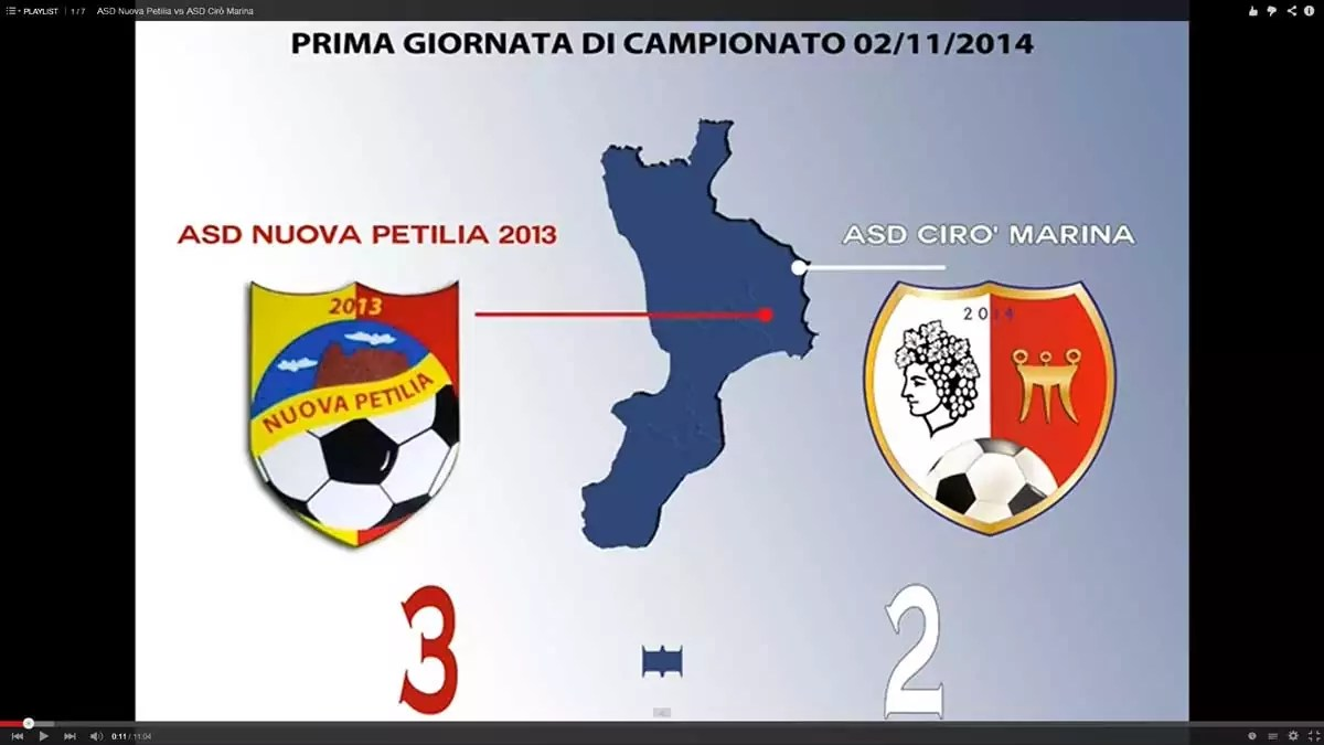 ASD Nuova Petilia 2013 vs ASD Cirò Marina