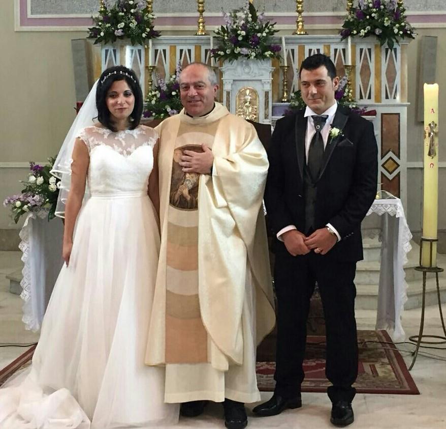 Filomena e Giuseppe oggi sposi