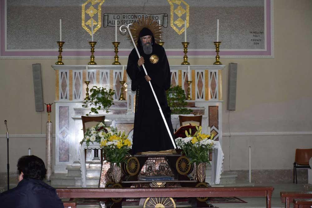 Primo atto della Festa di San Francesco: traslata la statua a Foresta
