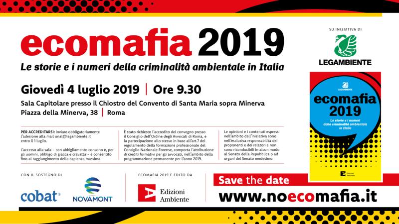 Rapporto Ecomafia 2019: La Calabria seconda regione per illegalità ambientali