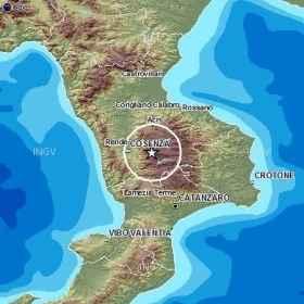 Due forti scosse di terremoto in Calabria