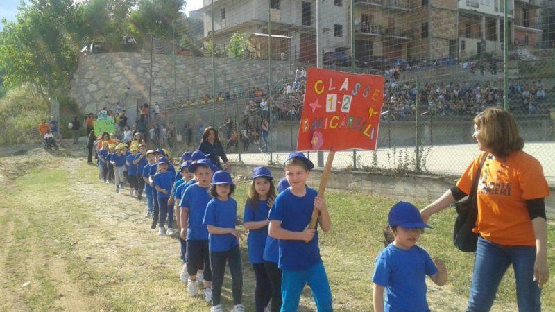 Sport in classe sul campo polisportivo di San Vincenzo