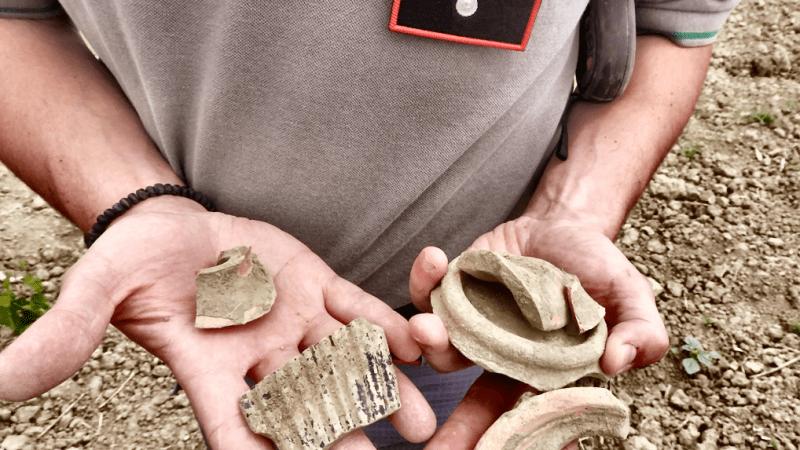 Umbriatico, scoperto un antico sito archeologico dai Carabinieri forestali