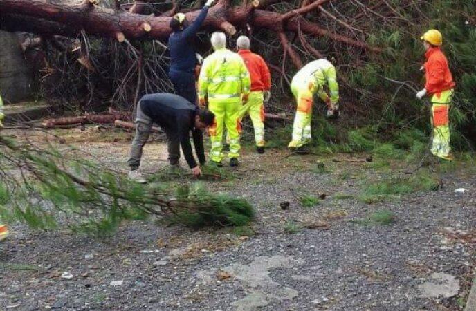 Maltempo in Calabria: incidente ferroviario