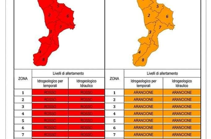 Domani allerta arancione, scuole chiuse e a Petilia rinviata la giornata contro la violenza sulle donne