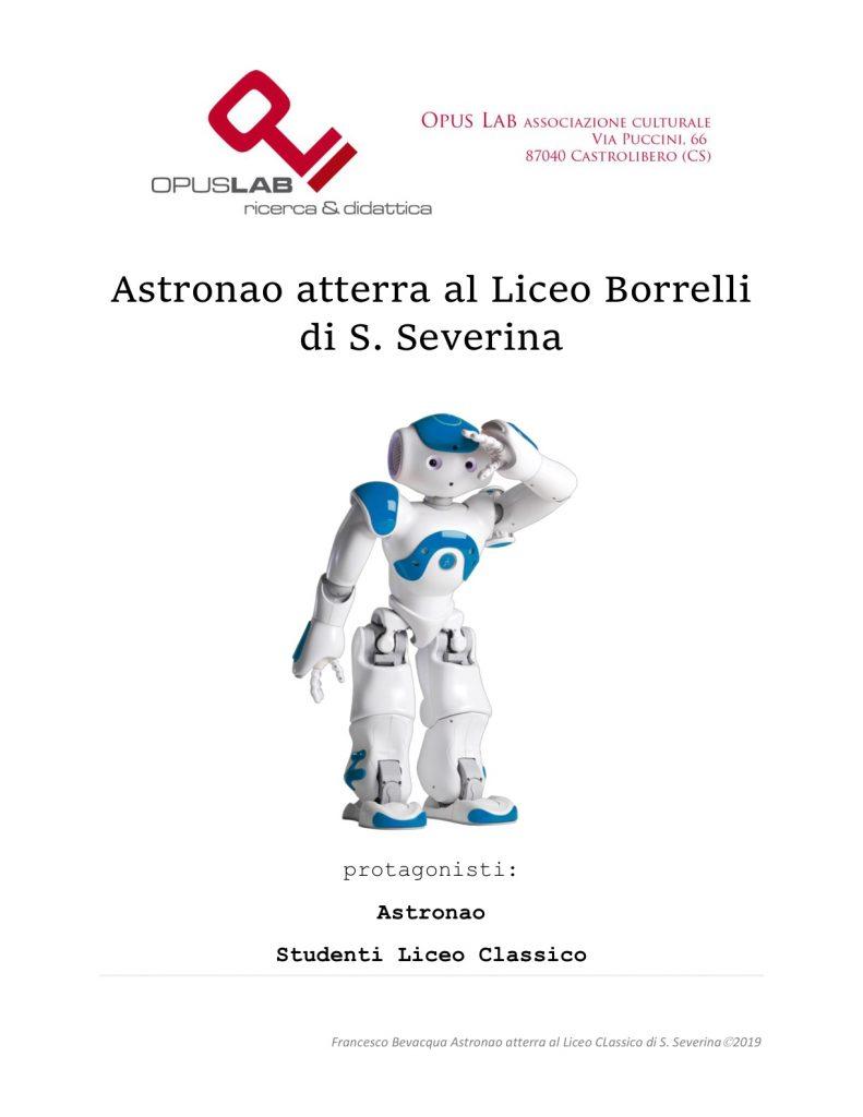 Astronao atterra al Borrelli nella Notte Nazionale del Liceo Classico