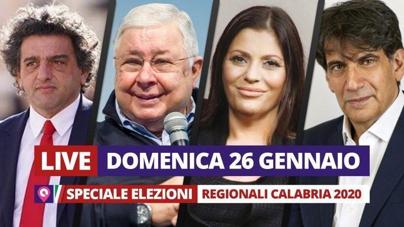 Scrutinio ancora in corso Santelli in netto vantaggio. Nicolazzi a Petilia ha preso 1368 voti