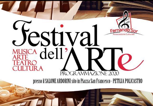 Festival dell'Arte a Petilia, primo appuntamento domenica 9
