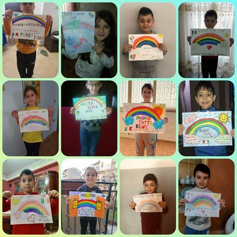 I bambini di Pagliarelle lanciano il loro messaggio di speranza