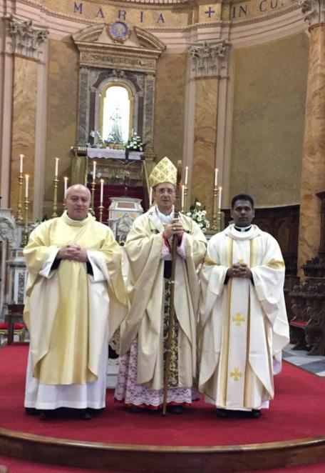 Ordinazione sacerdotale ardorina: La prima in Italia in tempi di Covid