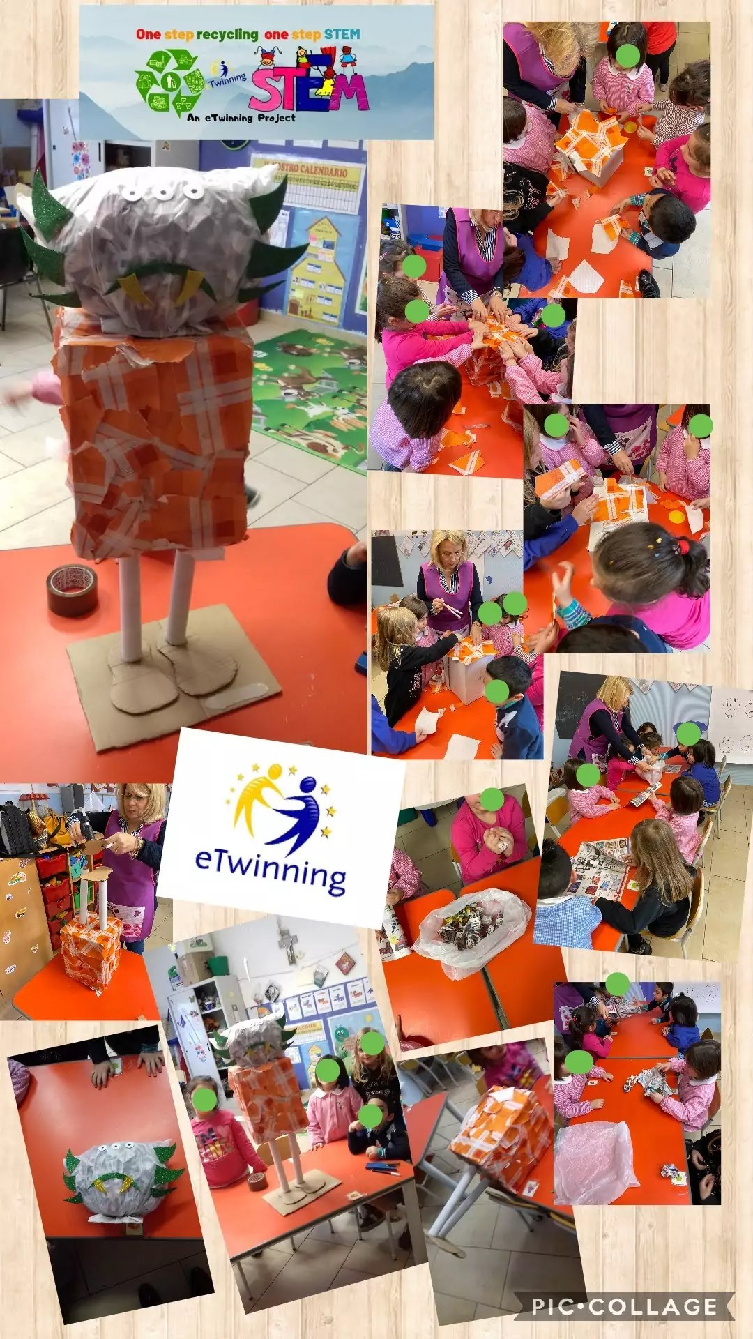 """Concluso il progetto europeo eTwinning """"One step recycling, one step STEM"""""""