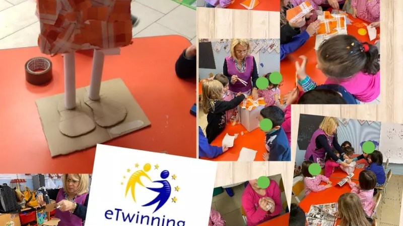 "Concluso il progetto europeo eTwinning ""One step recycling, one step STEM"""