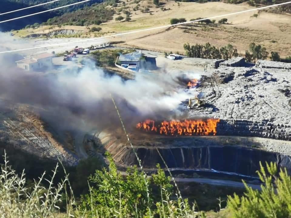 Incendio nella discarica di Vetrano: Il commento di Legambiente
