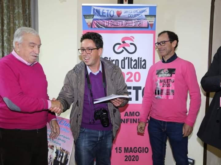 Soveria Mannelli si tinge di rosa per il Giro d'Italia