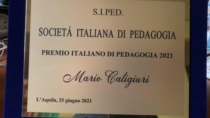 Unical, Mario Caligiuri dedica il Premio della Società di Pedagogia ai docenti impegnati nel riscatto del Mezzogiorno