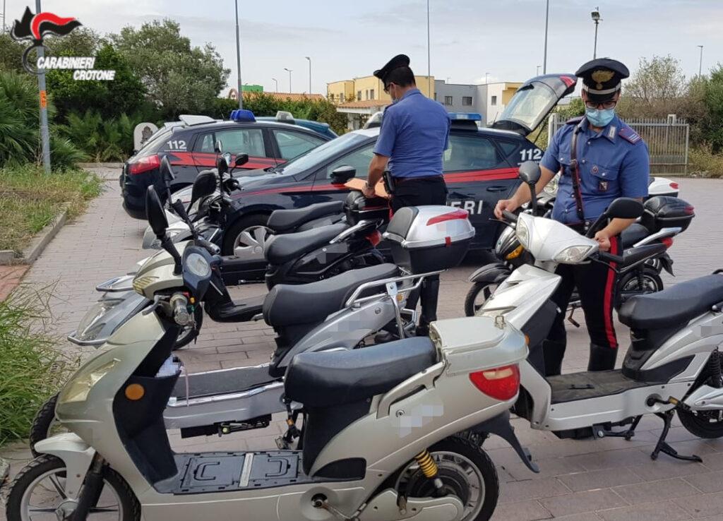 Bici elettriche modificate: Sanzioni da parte dei Carabinieri