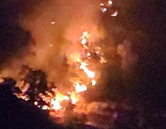 Incendi sul territorio petilino, ieri colpiti 10 ettari di uliveto