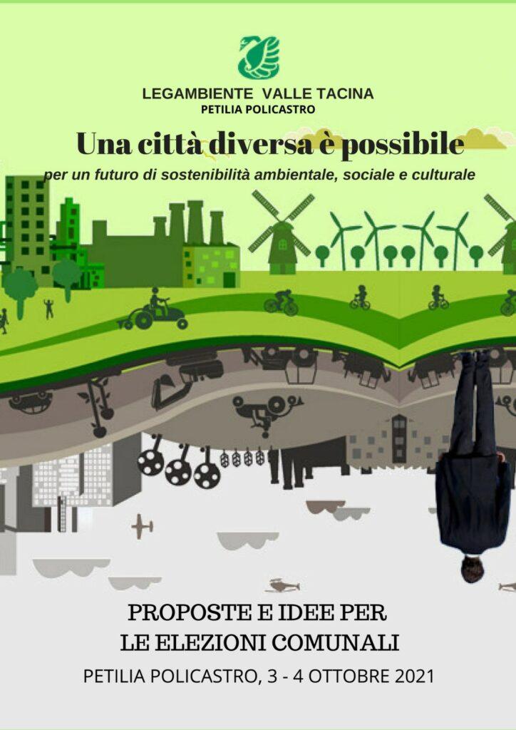 Amministrative Petilia: Le proposte di Legambiente ai candidati a sindaco