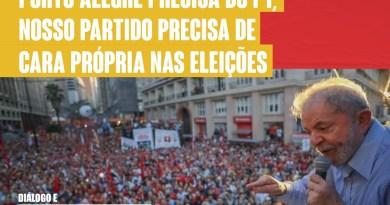 Porto Alegre precisa do PT
