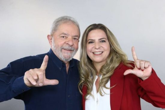 Luizianne e Lula