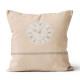 soleil d ocre coussin esprit de famille 100 coton dehoussable 40 x 40 cm horloge naturel petit bazar com