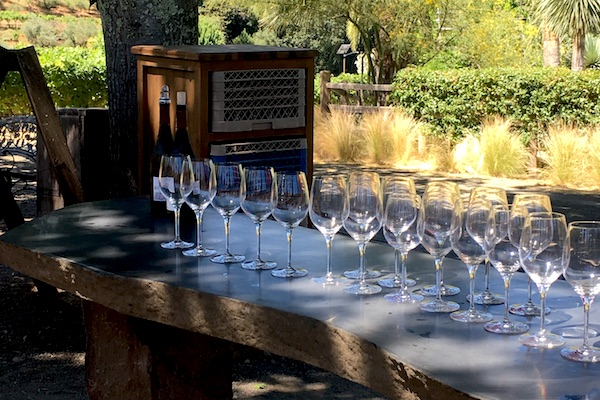 benziger family winery tasting