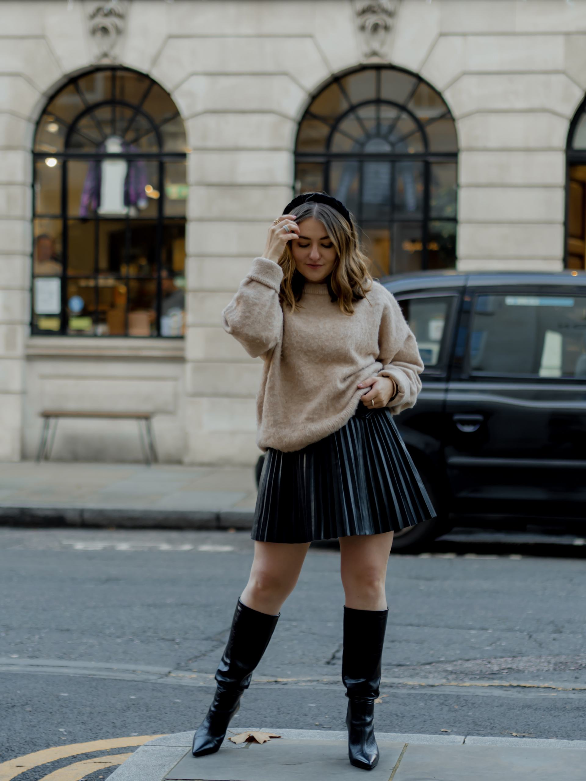 Style Knee High Boots - Petite Elliee