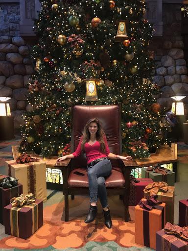 Disney's Grand California Hotel ...Holiday style!! :)