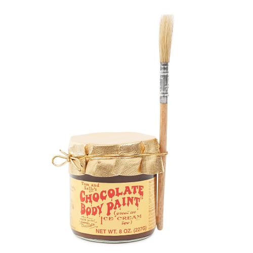 TOM & SALLY'S EDIBLE CHOCOLATE BODY PAINT