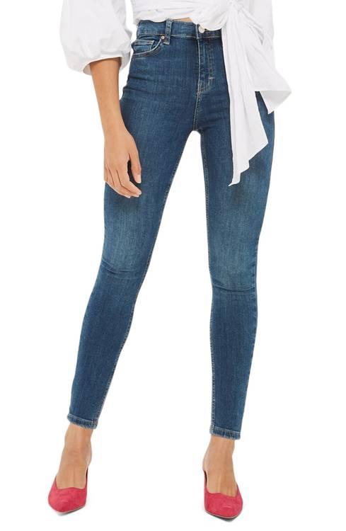 Jamie High Waist Crop Skinny Jeans TOPSHOP