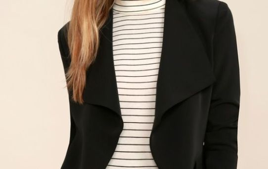 Blazers...the coat that can dress up any simple look!