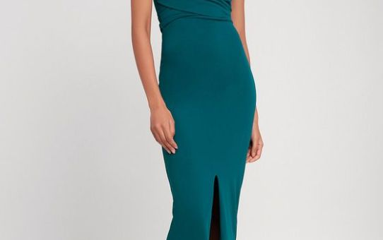 Own the Night Strapless Maxi Dress