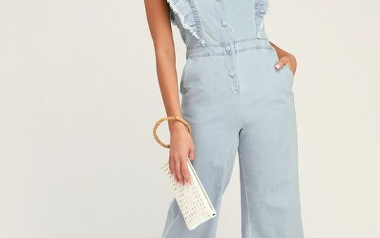 THE MOST ADORABLE DENIM SPRING LOOK…