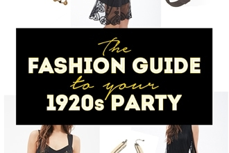 fashion guide to your 1920s party