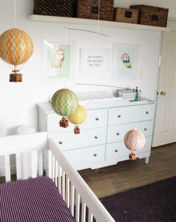 Neutral Modern Nurseries as part of Nursery Week on Petitemodernlife.com