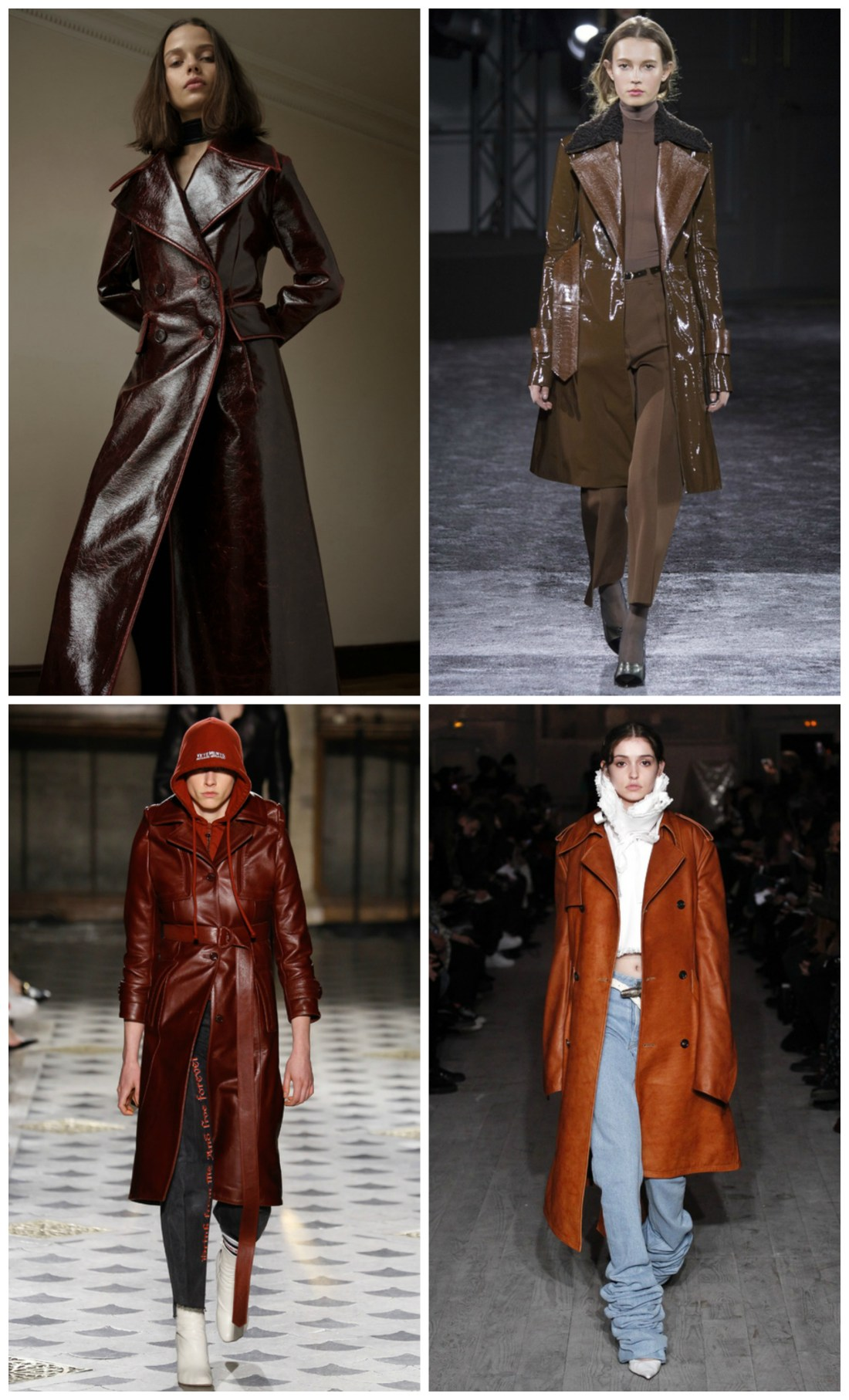 Trench coats are back in style!