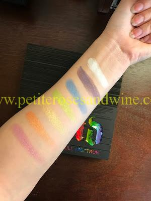 IMG_7017 Urban Decay Full Spectrum Palette Swatches MAKEUP