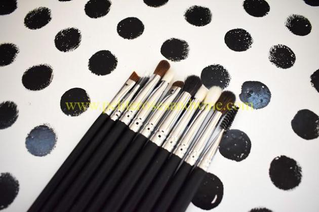 MikaseEyeBrushSet Mikasa Beauty Brushes:: Complete Eye Set & Lemon Drop Review MAKEUP