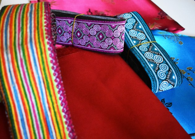 Fabric-and-Trims-1024x731 Sneak Peek :: Hmong Outfit & Sequins DIY