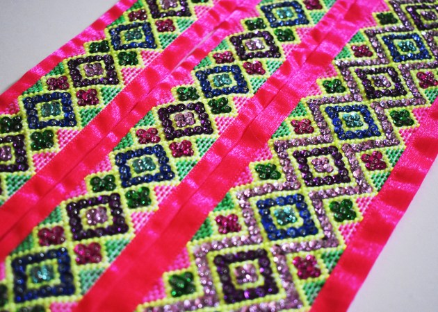Sequin-Stripe-1024x731 Sneak Peek :: Hmong Outfit & Sequins DIY