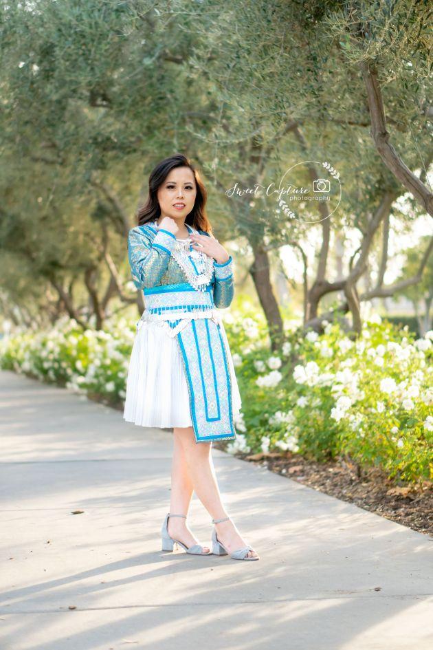 DSC01210-683x1024 Hmong Outfits Series :: Paj Ntaub Cog Ci Hmong Outfit Series OUTFITS