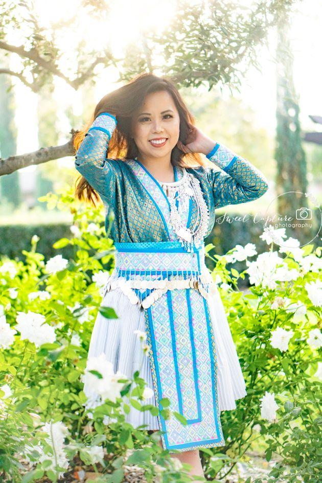 DSC01281-683x1024 Hmong Outfits Series :: Paj Ntaub Cog Ci Hmong Outfit Series OUTFITS