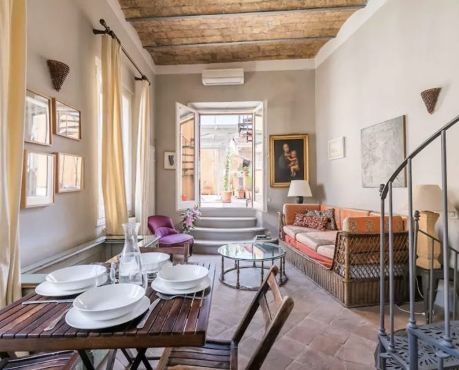 10 Airbnbs With A Terrace In Rome Pee Suitcase