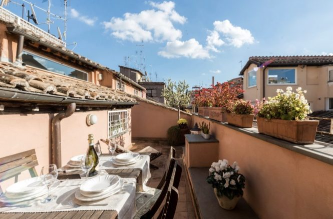 Apartments With A Terrace To In Rome