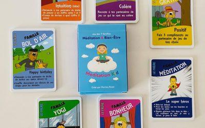 Méditation Kid | Un jeu de cartes pour enfants à découvrir !
