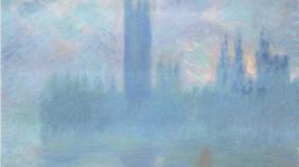 Claude Monet, Le Parlement de Londres, 1900-1901. Art Institute of Chicago. Photo © The Art Institute of Chicago