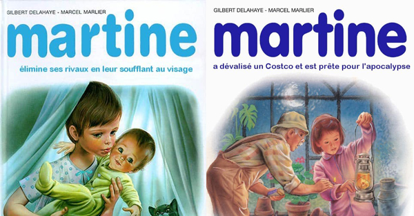 Humour Parodie De Bd Martine L Etoile De Normandie Le Webzine