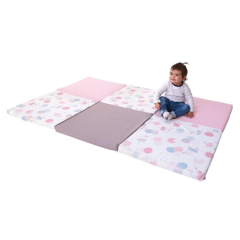 https www petits chats fr 294 grand tapis d eveil pliable confortable et assemble en france coloris rose html